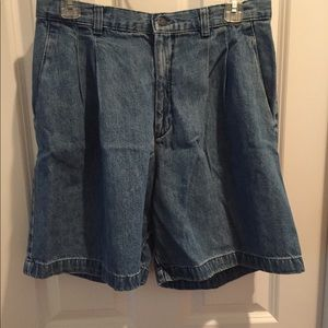 Lee ladies relaxed fit denim shorts